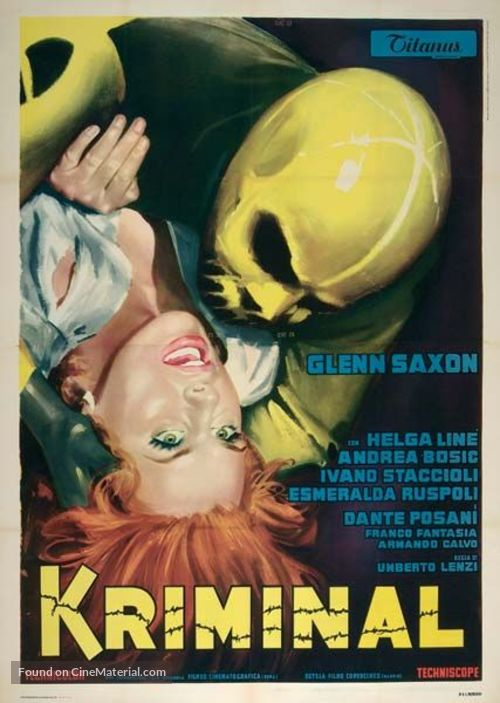 Kriminal - Italian Theatrical poster