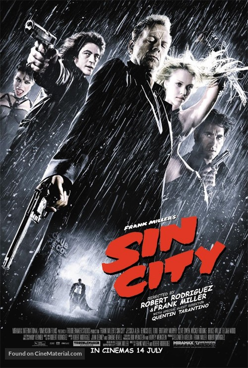 Sin City - Australian Movie Poster