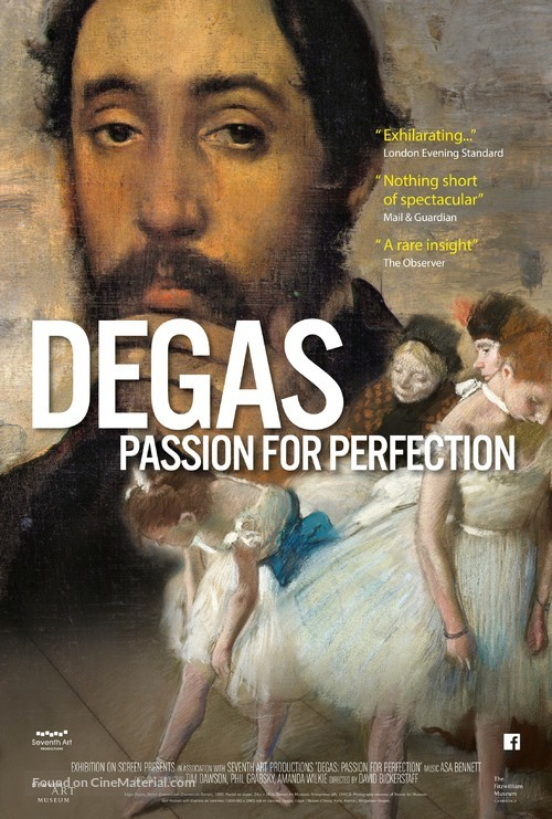 Degas: Passion for Perfection - British Movie Poster