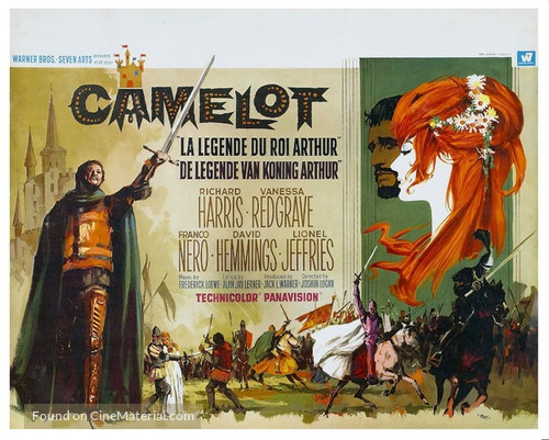 Camelot - Belgian Movie Poster