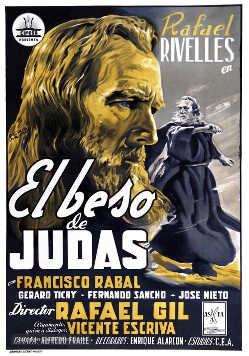Beso de Judas, El - Spanish Movie Poster