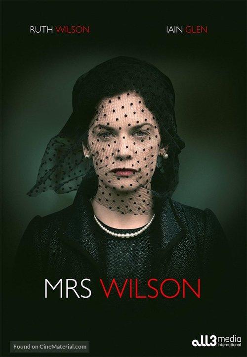 """""""Mrs. Wilson"""" - British Movie Cover"""