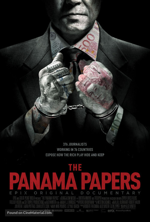 The Panama Papers - Movie Poster