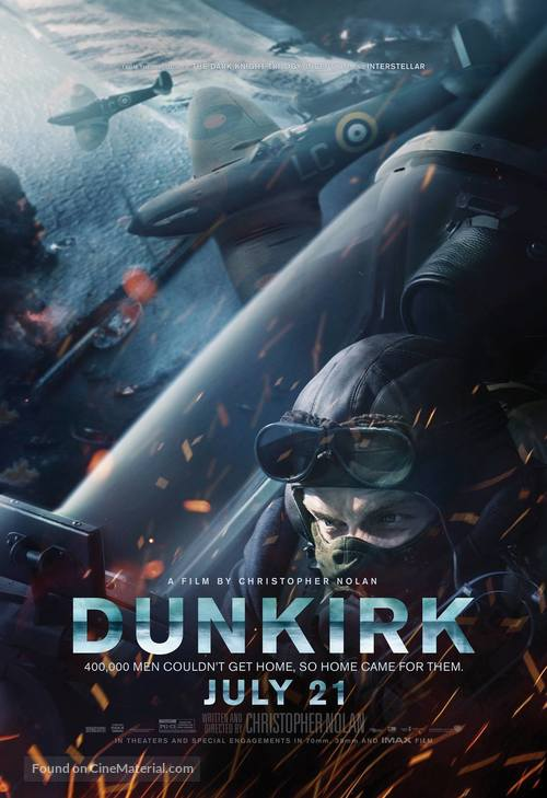 Dunkirk - Movie Poster