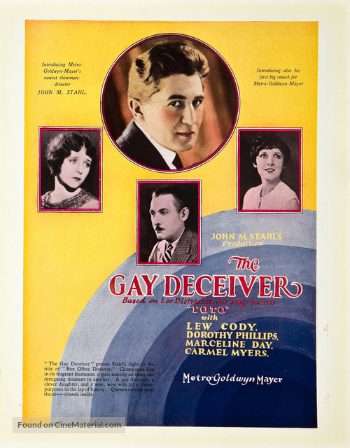 The Gay Deceiver - Movie Poster