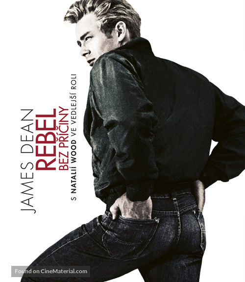Rebel Without a Cause - Czech Blu-Ray movie cover