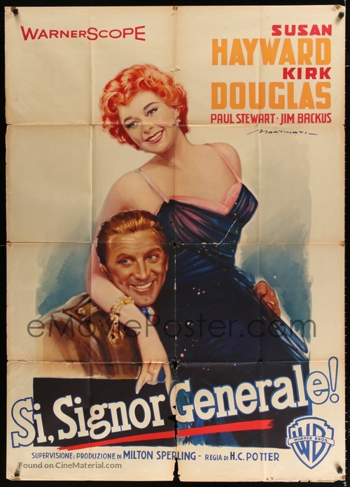 Top Secret Affair - Italian Movie Poster