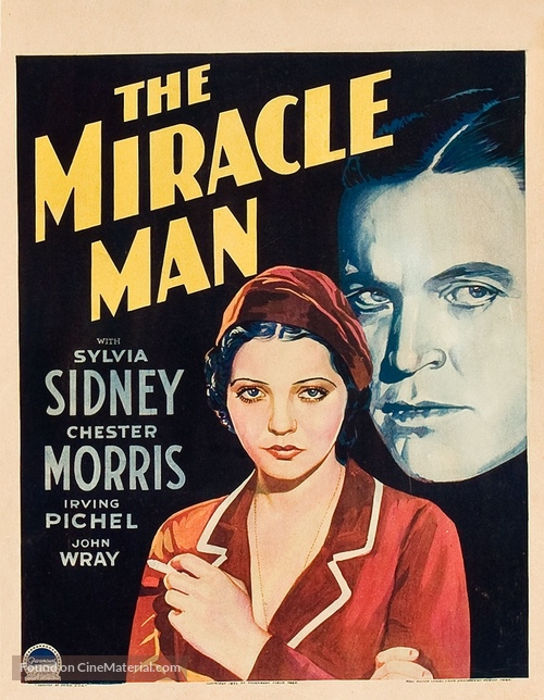The Miracle Man - Movie Poster