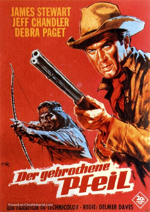 Broken Arrow - German Movie Poster