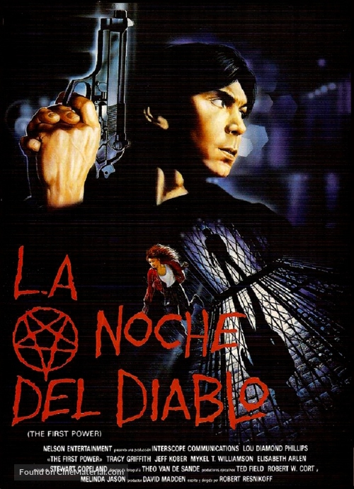 The First Power - Spanish Movie Poster