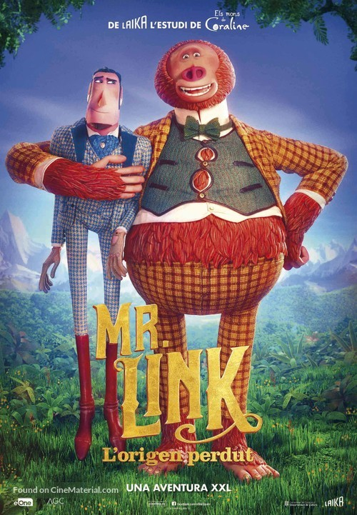 Missing Link - Spanish Movie Poster