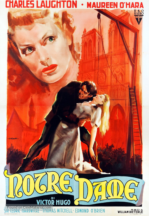 The Hunchback of Notre Dame - Italian Movie Poster