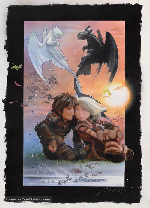 How to Train Your Dragon: The Hidden World - Key art