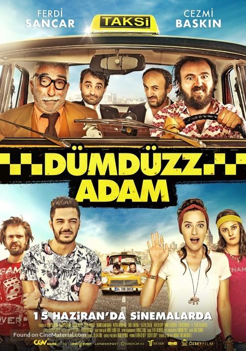 Dümdüzz Adam - Turkish Movie Poster