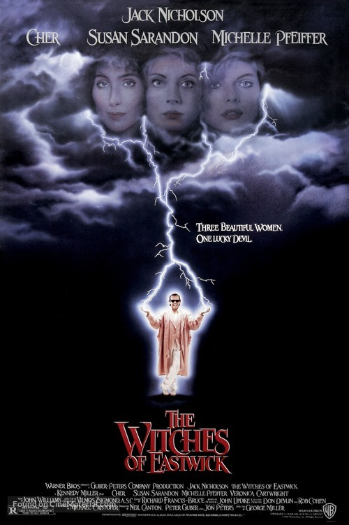 The Witches of Eastwick - Movie Poster