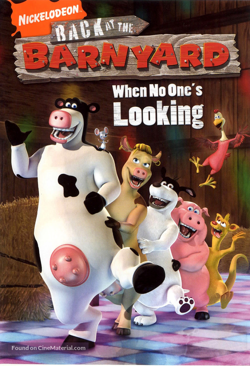"""Back at the Barnyard"" - Movie Cover"