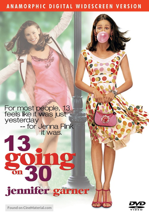 13 Going On 30 - Movie Cover