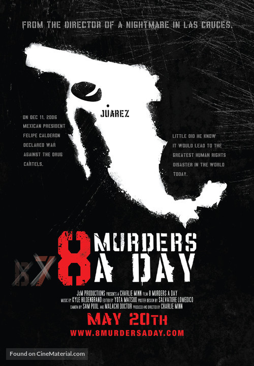 8 Murders a Day - Movie Poster