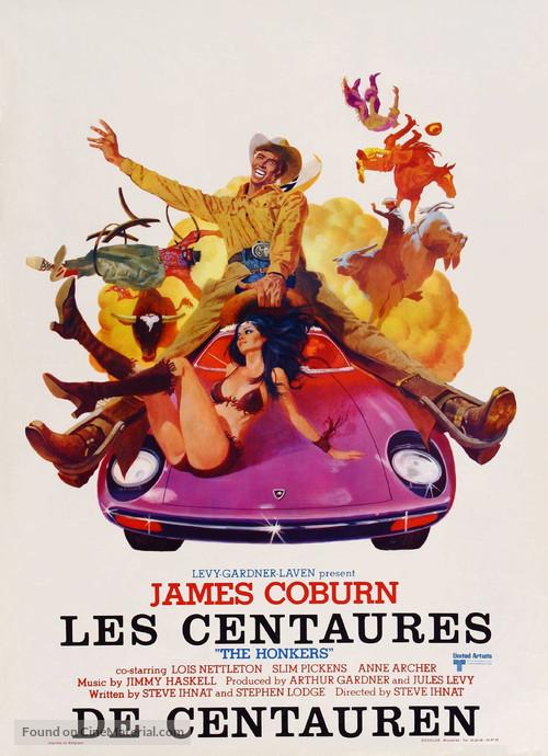 The Honkers - Belgian Movie Poster