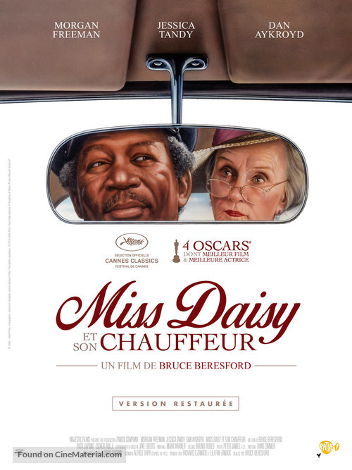 Driving Miss Daisy - French Movie Poster