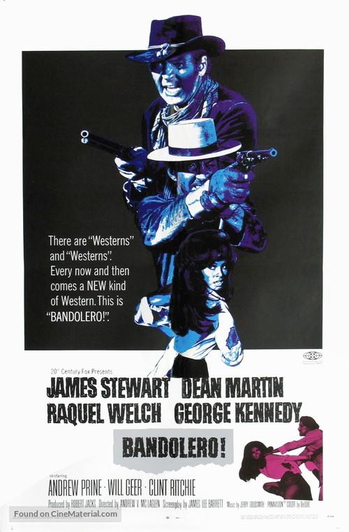 Bandolero! - Movie Poster