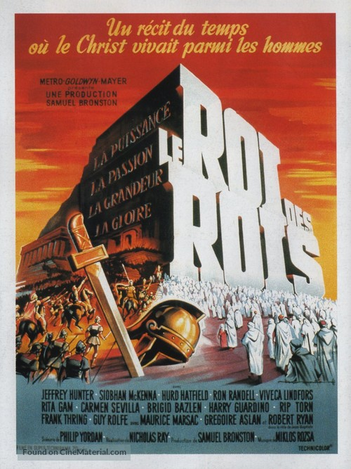 King of Kings - French Movie Poster
