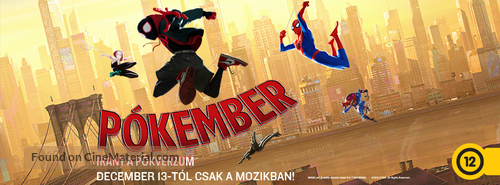 Spider-Man: Into the Spider-Verse - Hungarian poster
