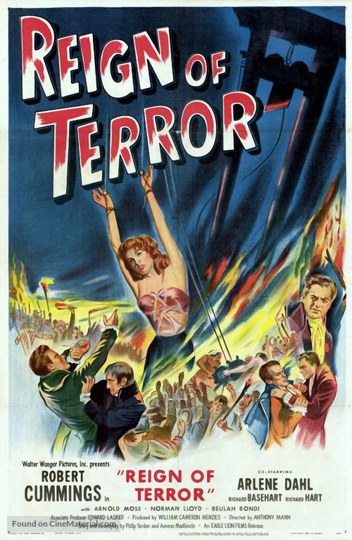 Reign of Terror - Movie Poster