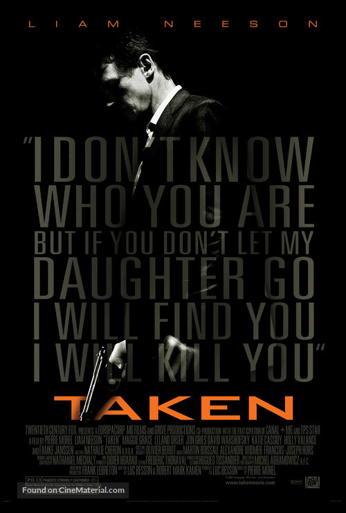 Taken - Movie Poster