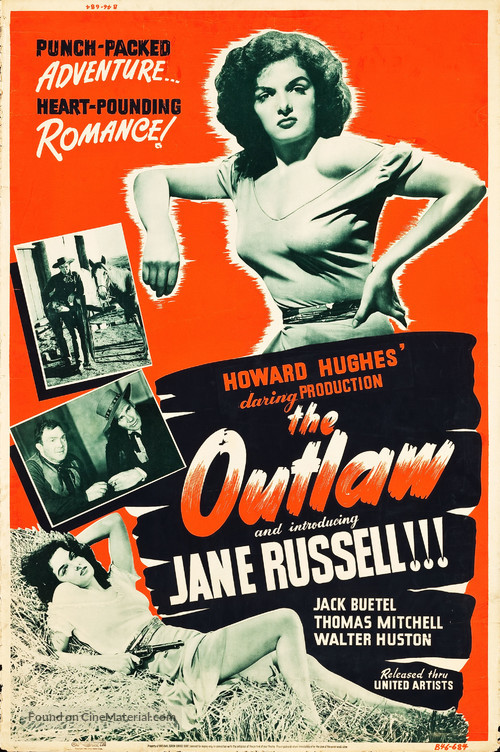 The Outlaw - Movie Poster