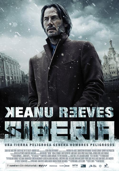 Siberia - Spanish Movie Poster