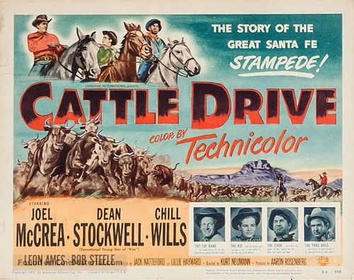 cattle drive movie