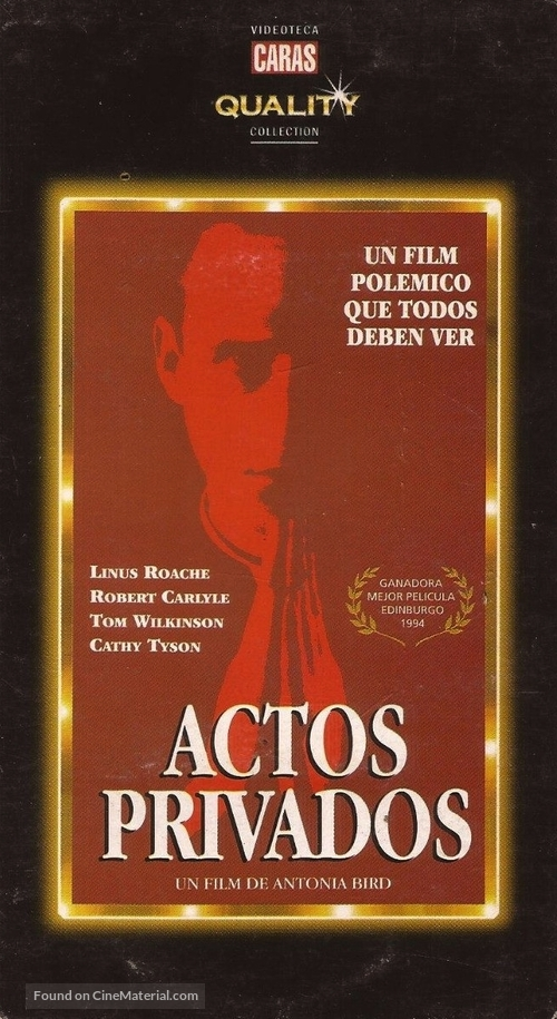 Priest - Argentinian VHS cover