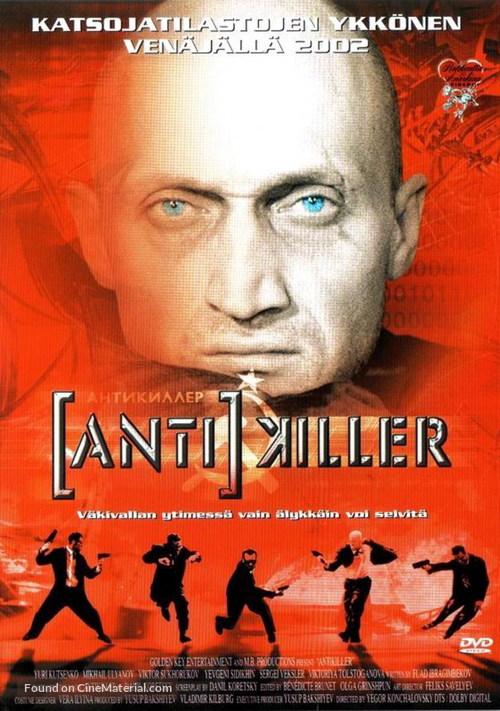 [Anti]killer - Finnish DVD cover