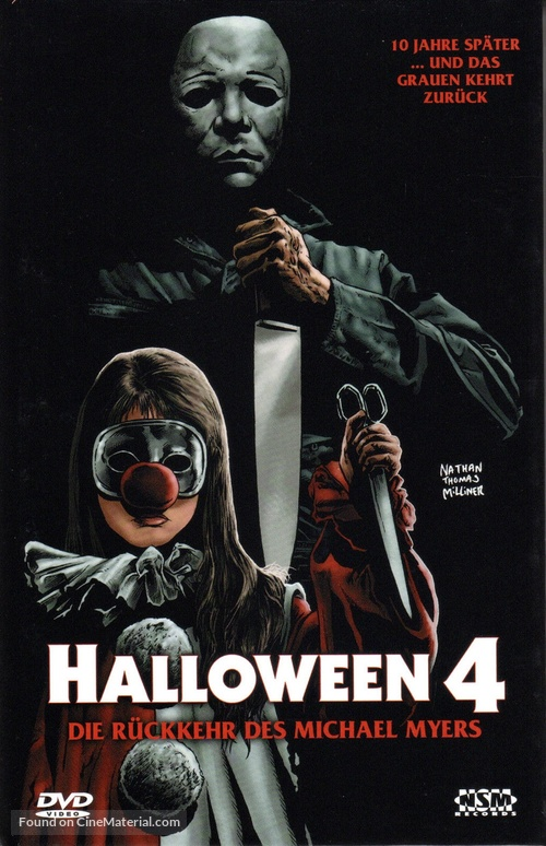 43491187 Halloween 4: The Return of Michael Myers - Austrian DVD cover