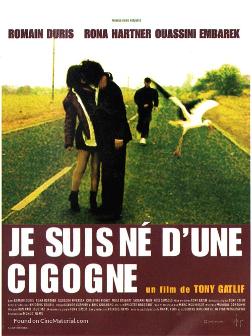 Je suis né d'une cigogne - French Movie Poster