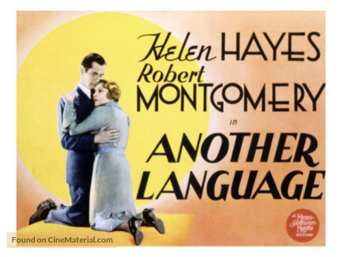 Another Language - Movie Poster