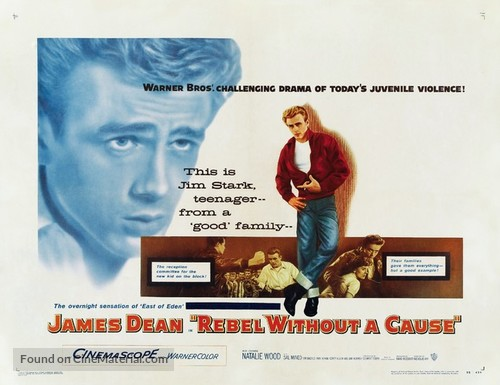 Rebel Without a Cause - Movie Poster