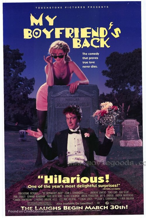 My Boyfriend's Back - Movie Poster