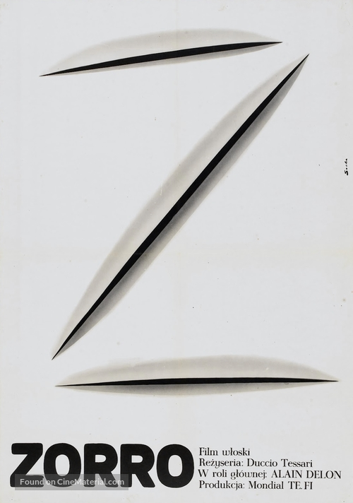 Zorro - Polish Movie Poster
