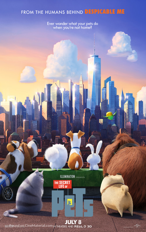 The Secret Life of Pets - Theatrical poster
