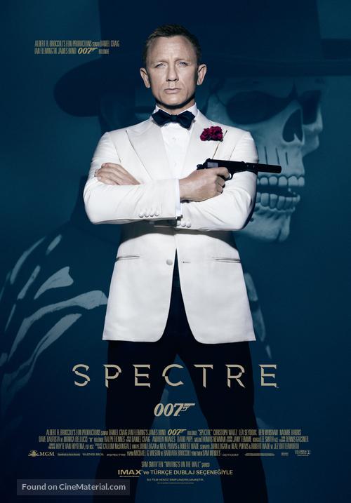 Spectre - Turkish Movie Poster