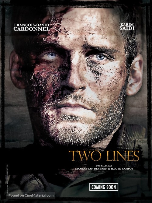 Two Lines - French Movie Poster