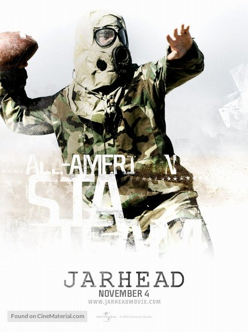 Jarhead (2005) 480p + 720p BluRay x264 ESubs AC3 Dual Audio [Hindi DD5.1 CH + English] 421MB + 967MB Download | Watch Online