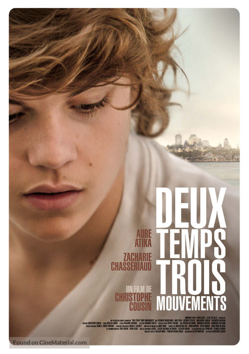 2 temps, 3 mouvements - French Movie Poster
