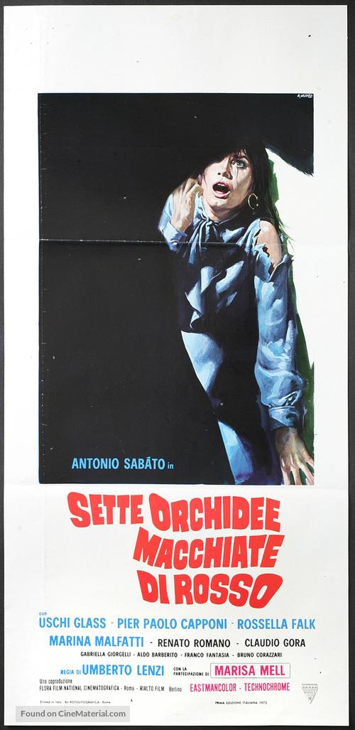 Sette orchidee macchiate di rosso - Italian Movie Poster