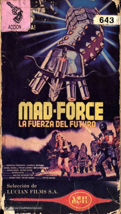 Land of Doom - Argentinian Movie Cover