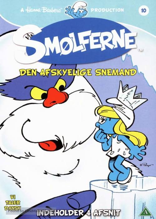 """""""Smurfs"""" - Danish DVD cover"""