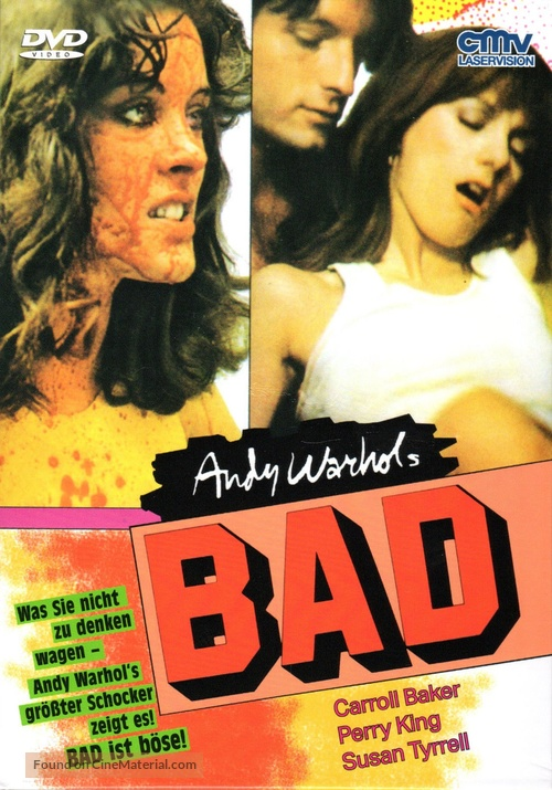 Bad - German DVD cover