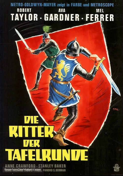 Knights Of The Round Table German Movie Poster